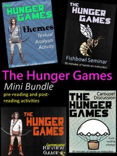 hunger games key themes the hunger games character map create a character map