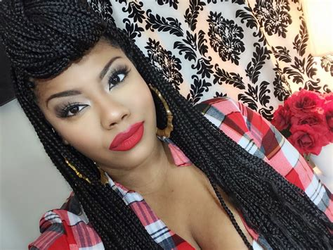 how to style your box braids youtube how to style box braids tutorial youtube