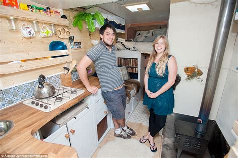 Rent A Tiny House by Adam Croft And Partner Nikki Pepperell Convert A Van Into