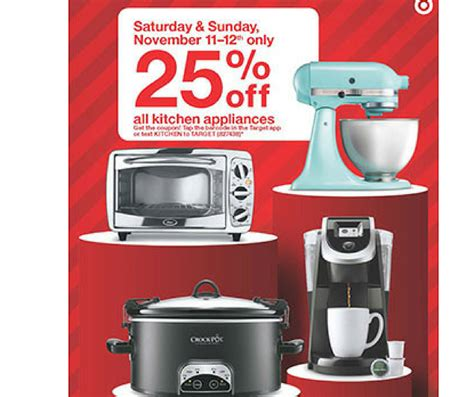 target kitchen appliances southern savers deals weekly ads printable coupons
