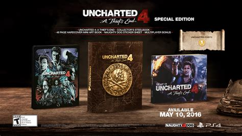Special Edition uncharted on playstation 4 pre order