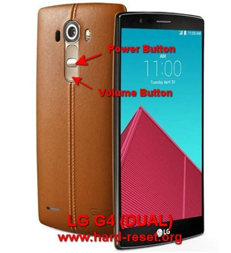 Factory Reset Lg G4 | how to easily hard reset lg g4 g4 dual h815 h815t