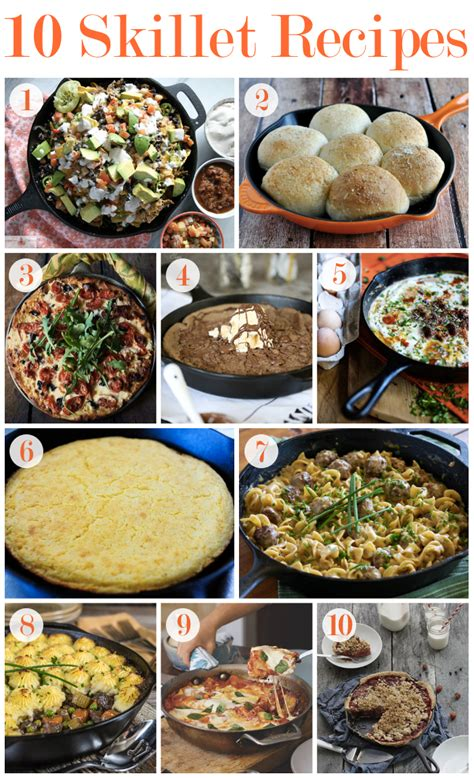 10 easy skillet recipes