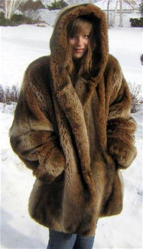 Glow In The Fur Coats Help You Find Your Way In Da Club by Mink Fur Coat Plus Size Ebay
