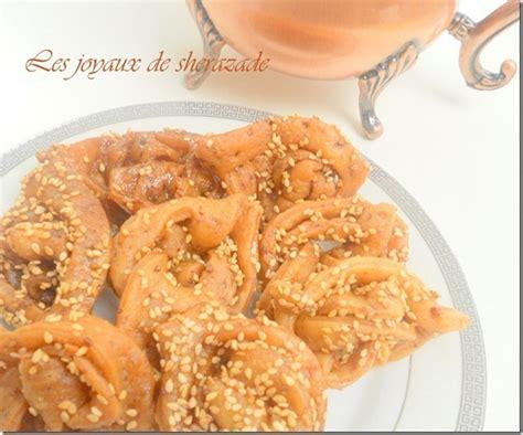 recette de cuisine alg駻ienne samira chebakiya griwech marocain les joyaux de sherazade