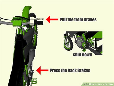 how to ride motocross bike how to ride a dirt bike the basics 8 steps with pictures