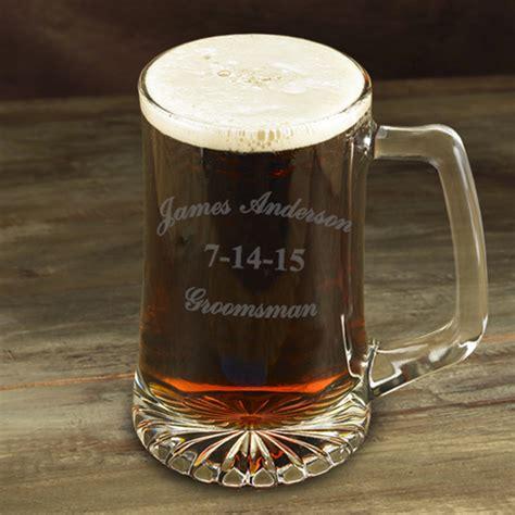 Personalized Barware Gifts by Personalized Groomsman 25 Oz Mug Glassware Mugs