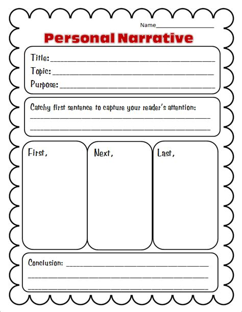 printable narrative planner free graphic organizers for writing nice collection and