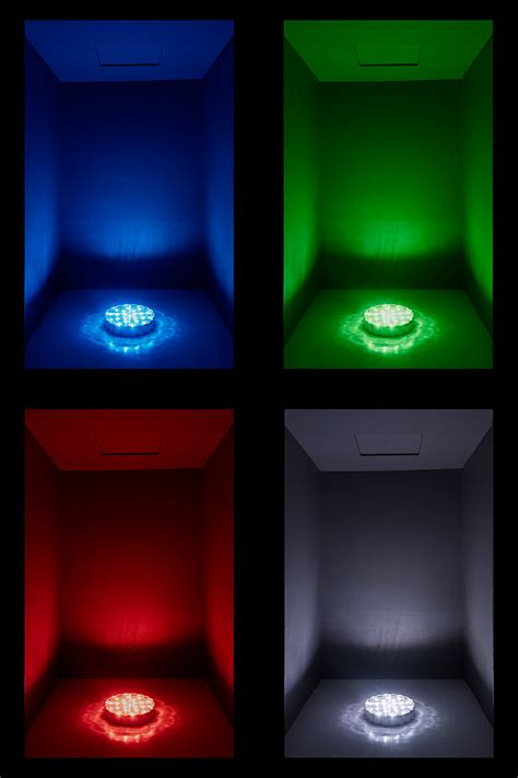 change light led centerpiece light 6 quot rechargeable battery powered