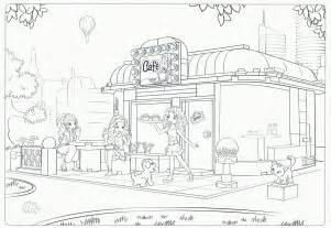 Kleurplaten sketch template