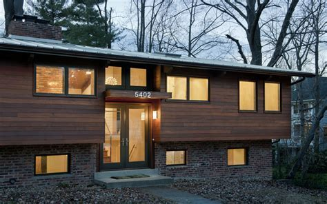 House at dusk   Contemporary   Exterior   dc metro   by Bennett Frank McCarthy Architects, Inc.