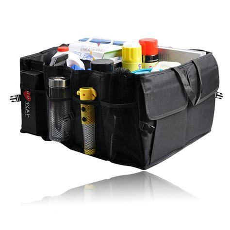 Auto Car Organizer Hmb016 car auto waterproof foldable black car boot organizer storage bag protable auto storage box