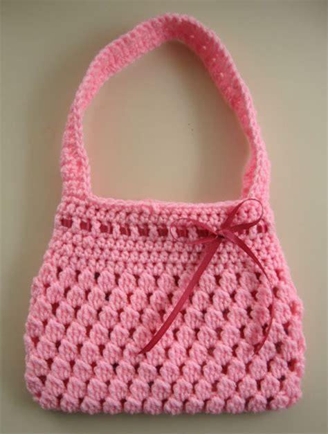 crochet pattern child purse crochet pattern for little girls purse free patterns for