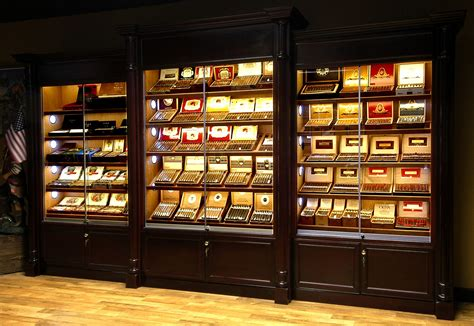 display lighting humidor store led display lights