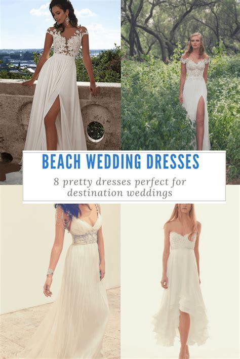 8 of the Prettiest Caribbean Beach Wedding Dresses