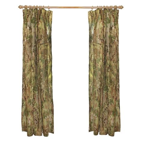 army curtains army multi terrain camo military window curtains tie