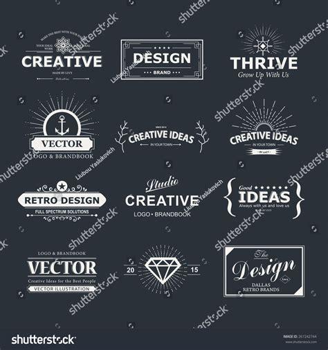 vintage vector design elements retro style typographic vintage vector design elements retro style typography