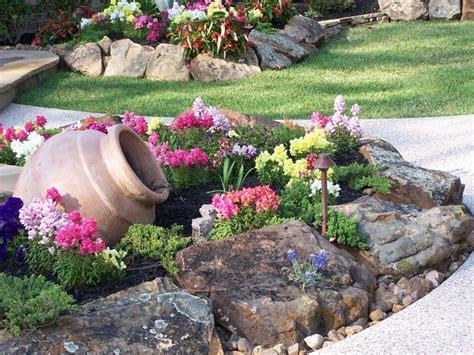 corner stunning rock garden design ideas corner