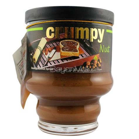 Crumpy Duo Hazelnut Spread crumpy nut chocolate hazelnut spread 225g