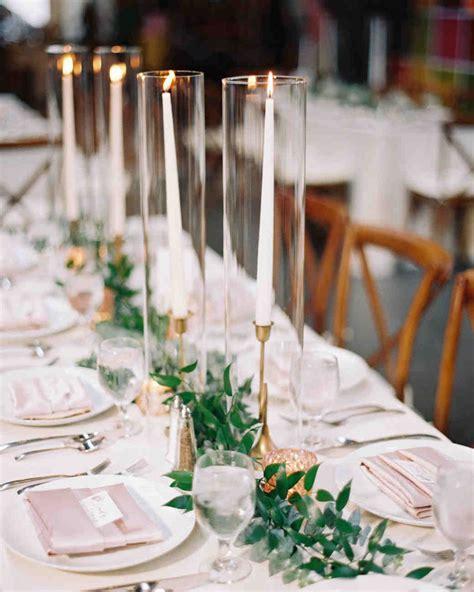 candle centerpieces   light   reception