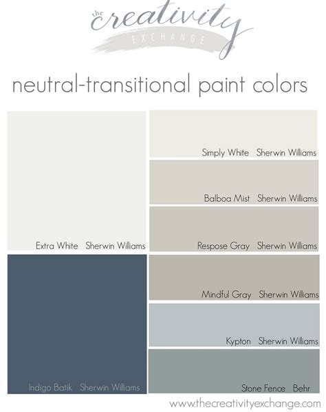 paint color palette paint colors in my home my color strategy