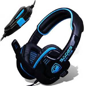 Headset Gaming Pc new sades stereo headset headband pc notebook pro gaming
