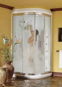 one corner shower stall units interior exterior