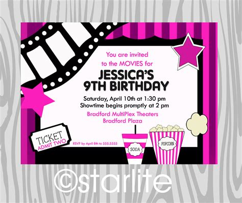 girls birthday party invitations sansalvaje com