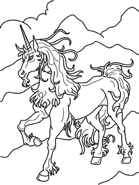 unicorn coloring part 3