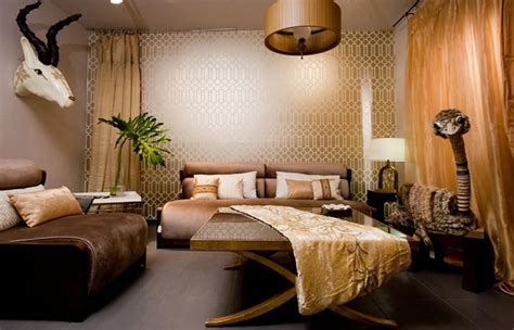 luxury gold living room interior design decoration