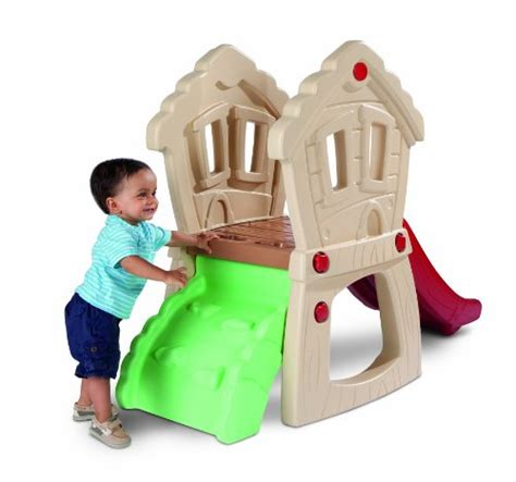 tike swing and slide tikes playset with slide climbers and slides