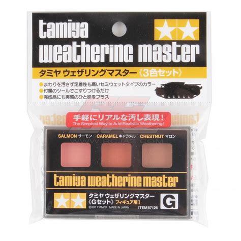 Tamiya Weathering Master G tamiya weathering master g set figures i 87126
