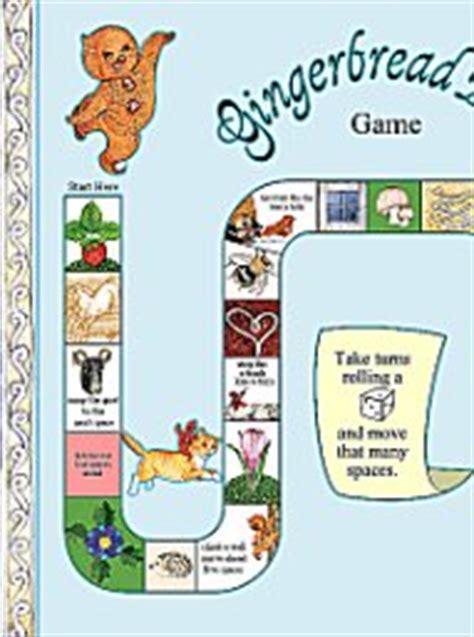gingerbread man board game printable gingerbread baby board game