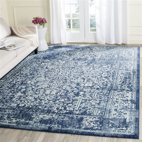 Navy Blue Area Rug 8x10 New Interior Blue Area Rugs 8x10 Regarding Found House With Pomoysam