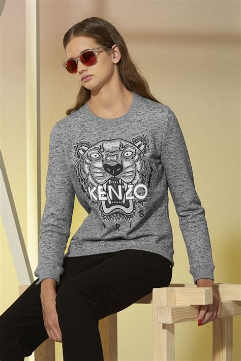 Sweat Sweater 143 tigre ton sur ton sweat shirt kenzo sweat shirts pulls