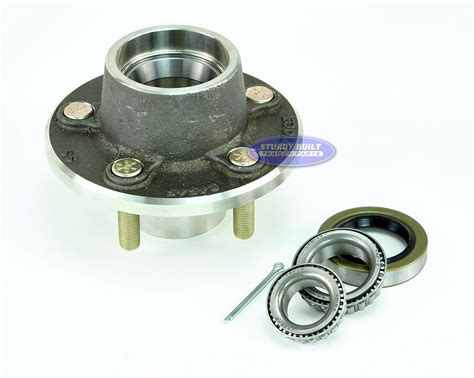 boat trailer hubs and bearings stainless steel 5 lug boat trailer hub with bearings for