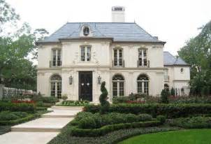 chateau style modern chateau transitional home exterior