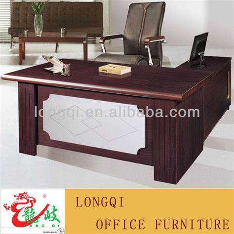china 2010 new design wood office table 2d 2435a china l shape modern design with leather table top wooden mdf