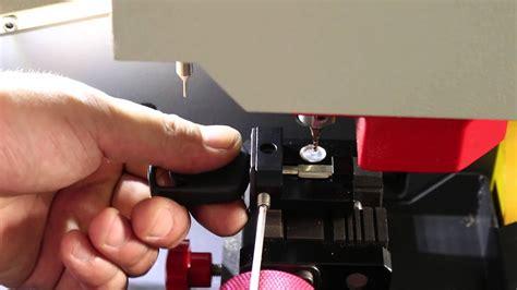 cut  ford tibbe key  sec  key cutting machine  german youtube