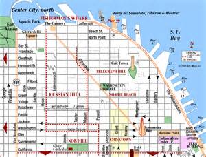 san francisco map fishermans wharf road map of san francisco fisherman s wharf san francisco california aaccessmaps