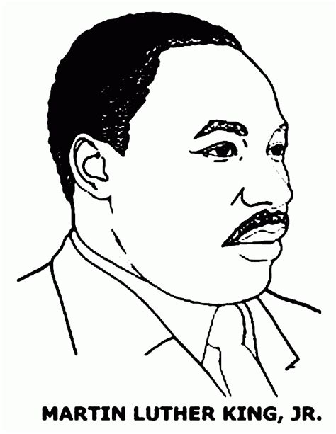 mlk coloring page free coloring home martin luther king coloring pages free coloring home