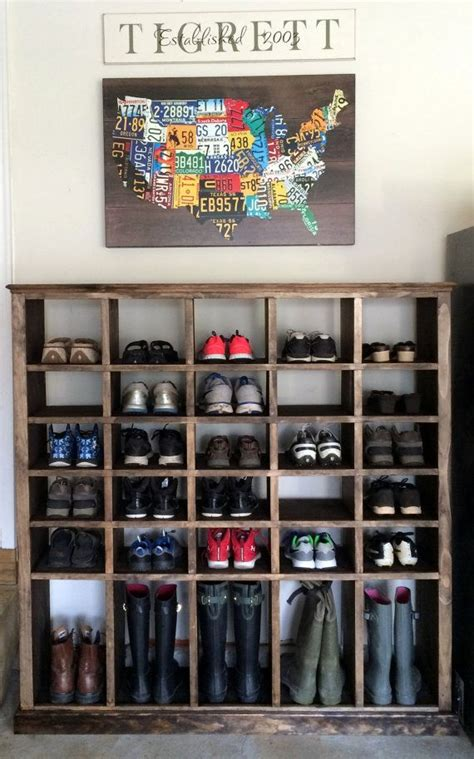shoe shelving ideas best 20 shoe racks ideas on