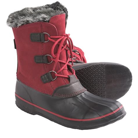 snow boots kamik temptress snow boots waterproof insulated for