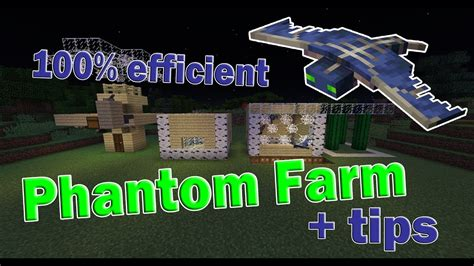 minecraft phantom membrane farm tutorial phantom tips