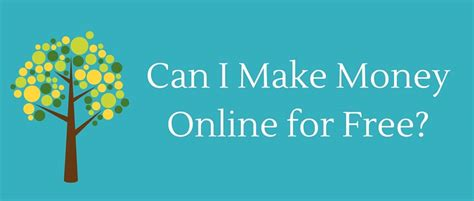 How Can I Make Money Online From Home For Free - banner can i make money online for free by robert allan quick ways to make money