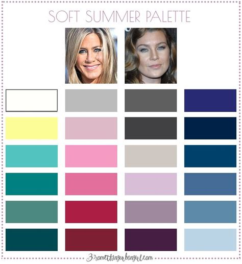 soft summer color palette best 25 soft summer palette ideas only on