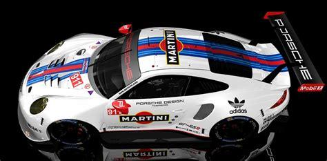 martini porsche rsr 2017 martini porsche 911 rsr skins racedepartment
