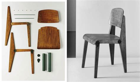 modern furniture design doknot 187 some chairs by jean prouv 233