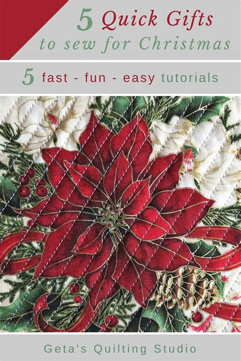 christmas gifts for quilters sew gifts sewing and quilting tutorials geta s quilting studio