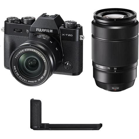 Fujifilm X T20 Mirrorless Digital Only Black fujifilm x t20 mirrorless digital with 16 50mm and b h